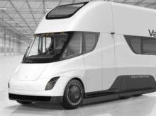 Tesla-electric-solar-van