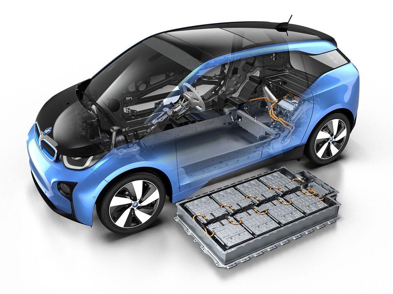 Bmw I3 Battery Electric