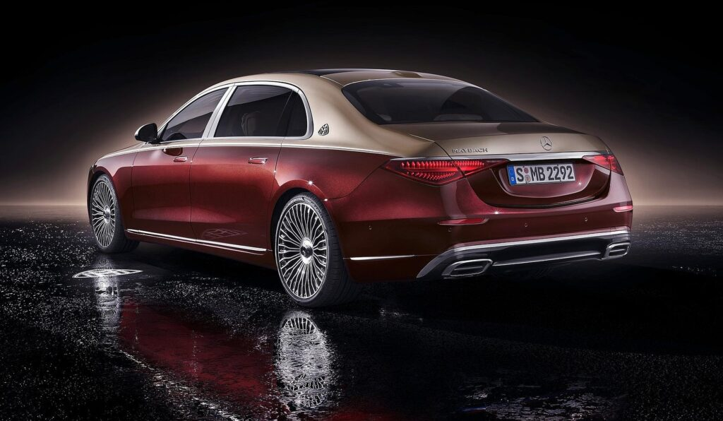 Mercedes Klasy S Maybach 2