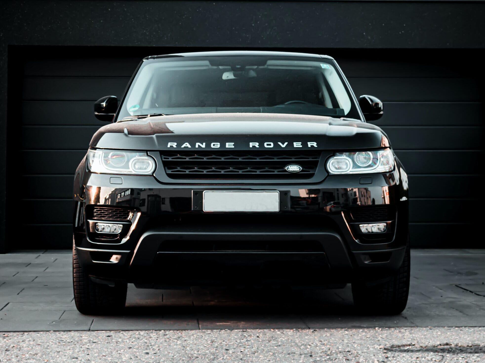 black Land Rover Range Rover